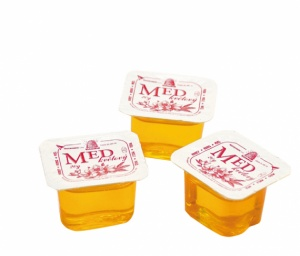 porcovaný včelí med